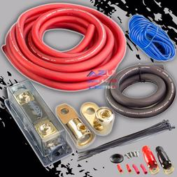 0 GAUGE AWG 100% OFC COPPER POWER AMP KIT AMPLIFIER WIRING I