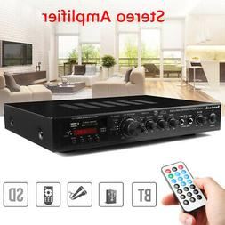 110V 720 Watts 5 Channels Pro bluetooth Power Amplifier AMP