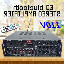 110V 800W bluetooth Home Stereo Amplifier Powered Equalizer
