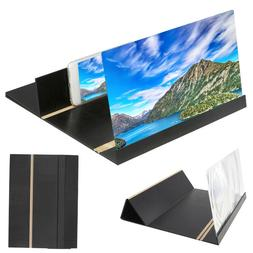 """12"""" 3D Mobile Phone Screen Magnifier HD Video Amplifier For"""