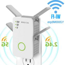 1200Mbps WiFi Range Extender Repeater Wireless Amplifiers Ro