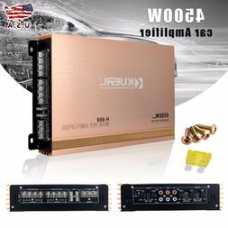 4500W 12V Car Audio Power Stereo Amplifier Amp 4CH 4 Channel