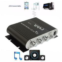 12V 4 Channel Amp Car Stereo Amplifier Amp MP3 Stereo for Ca