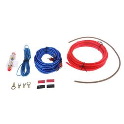 15inch 10GA Car Audio Sub-woofer Amplifier Kit Wiring Fuse H