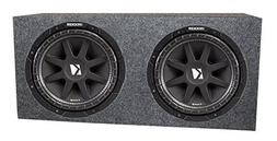 "Kicker 2 10"" 10C104 600W Car Subwoofers Comp Subs + Sealed S"