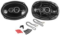 Kicker 2) 41DSC6934 New Kicker D-Series, 3-Way Car Audio Coa