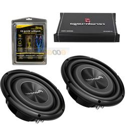 """2) Pioneer 12"""" Shallow Mount truck under-seat Subwoofers 180"""