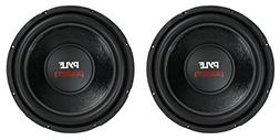"2) PYLE PLPW12D 12"" 3200W Car Subwoofers Subs Power Woofer D"