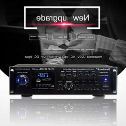 110V 2CH 2000W Digital Amplifier HIFI bluetooth AMP Stereo A