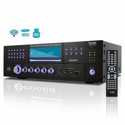 3000W BLUETOOTH HOME DIGITAL STEREO AUDIO THEATER POWER AMP