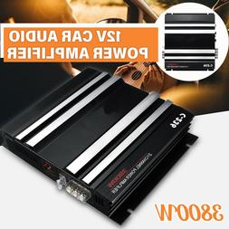 3800w 2 channel car amplifier audio super