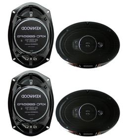"4) New Kenwood KFC-6995PS 6x9"" 1300 Watt 5-Way Car Audio Coa"