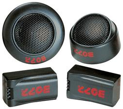 "4) BOSS TW-15 500W 1"" Micro Dome Car Audio Tweeters + Extern"