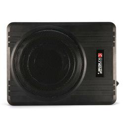 "600W 10"" Powered Car Under-Seat Subwoofer Amplifier Slim Aud"