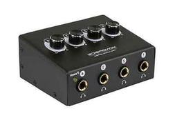 Monoprice 615220 4-Channel Headphone Amplifier