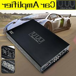 6800W 4 Channel Class AB Car Power Amplifier Stereo Bass Aud