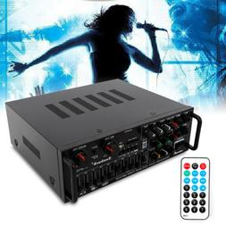 HD Home Theater Amplifier Bluetooth Stereo Receiver, Wireles