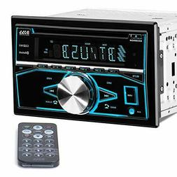 Boss 850BRGB Double Din In-Dash CD/MP3/ Built-in Bluetooth /