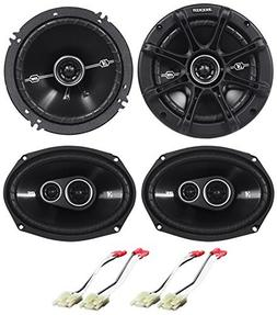 "Package: Pair of Kicker 41DSC6934 6x9"" D-Series 3-Way Car Sp"