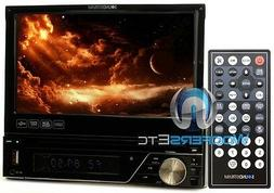 "SOUNDSTREAM VIR-7830 7"" TV DVD CD USB MP3 EQUALIZER SD AUX C"