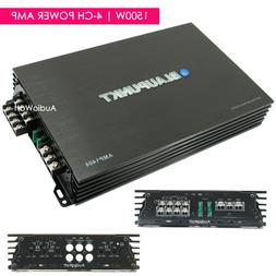 Blaupunkt AMP1404 Car Audio 4-Channel Amp Amplifier 1500 Wat