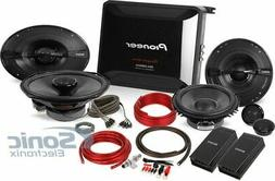 Amplified Package includes Pioneer 4 channel amp wiring PLUS