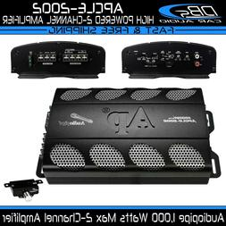 Audiopipe APCLE-2002 2 Channel Amplifier 1000W Max 4CH Fullr