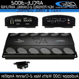 Audiopipe APCLE-3002 2 Channel Amplifier 1500W Max 2CH Fullr