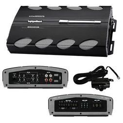 AUDIOPIPE AQX-360.4 2500W 4 Channel Car Amplifier Power Amp