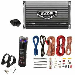 Boss AR1500M 1500W MONO Car Amplifier + Remote + 2.2 Farad C