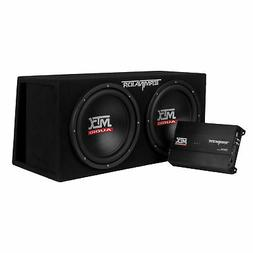 "MTX Audio TNP212DV Dual 12"" Subwoofer Vented Enclosure with"