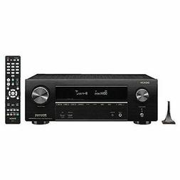 Denon AVR-X1500 Receiver - HDR10, 3D video support | 7.2 Cha