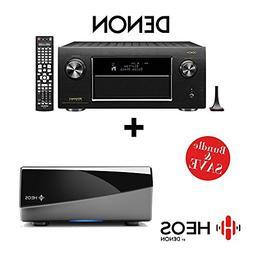 Denon AVR-X7200W Integrated Network AV Receiver + Denon HEOS