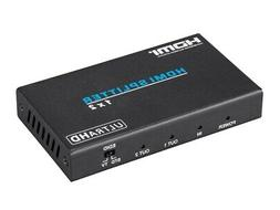 Blackbird 4K Pro 1x2 HDMI Splitter with HDCP 2.2 Support