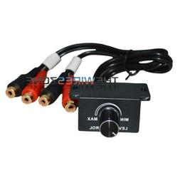 BLC-3 Universal Wired Bass Remote Level Control Knob for Car