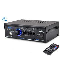 2x120W Bluetooth Audio Power Amplifier - 2 Channel Mini Ster