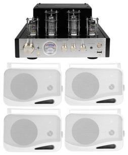 Rockville BluTube Tube Amplifier/Home Theater Bluetooth Rece