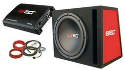"DS18 BP110 600W Complete Bass Package with 10"" Sub MDF Enclo"