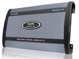 3000-Watt 4-Channel Bridgeable Amplifier