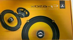 "JL Audio C1-650x 6-1/2"" 2-Way Coaxial Car Audio Speakers"