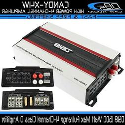 DS18 CANDY-X4W White1600 Watts Max Digital 4 Channel Class D