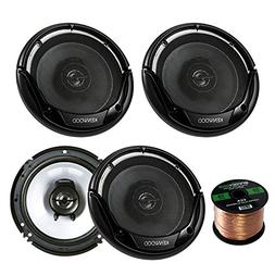 "2 Pairs Car Speaker Package of 4X Kenwood KFC-1665S 6 1/2"" I"