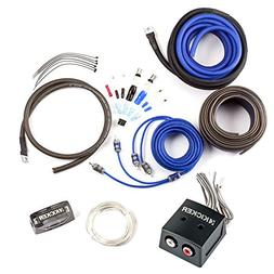 Kicker CK4 4-Gauge Amp Kit with KISLOC Line Output Converter