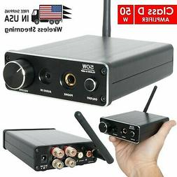 Class D Amp DAC with Stereo Amplifier 50W + Headphone Amplif