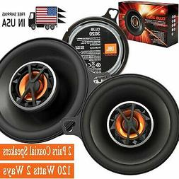 """JBL Club 6420 4""""x6"""" Coaxial Speakers + Sound Dampening and R"""