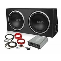 complete car subwoofer includes two