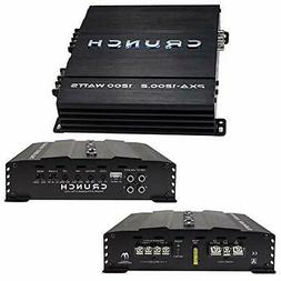 Crunch Amp 1200 Watt Car Audio 2 Channel Amplifier Class A/B