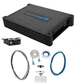 Rockville DBM12 2000w 2-Ohm Marine/Boat Mono Amplifier+Bass