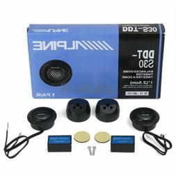 ALPINE DDT-S30 Car Stereo Speakers 360W Music Soft Dome Bala