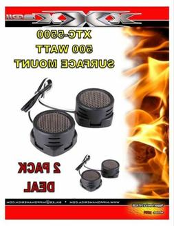 2 PACK DEAL Audiopipe 600w High Frequency Car Truck Boat Ste